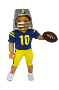 My Brittany's U of M Football Player Outfit  for American Girl Doll Logan