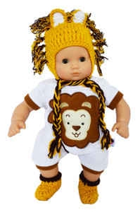 "My Brittany's ""I'm a Little Lion"" Outfit for Bitty Baby Dolls"