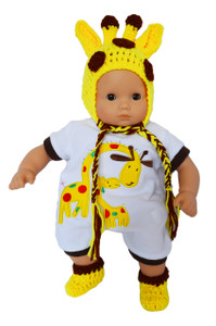 "My Brittany's ""I'm a Little Giraffe"" Outfit for Bitty Baby Dolls"