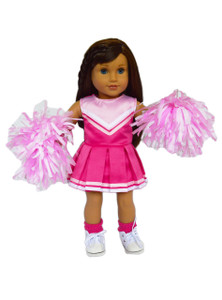 My Brittany's Pink Cheerleader Outfit for American Girl Dolls