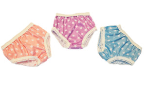 Three Pairs of Star Underwear for Wellie Wisher Dolls