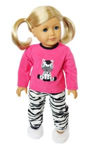 My Brittany's Zebra Pjs for American Girl Dolls