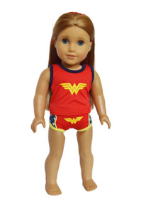 My Brittany's Wonder Woman Underwear for American Girl Dolls
