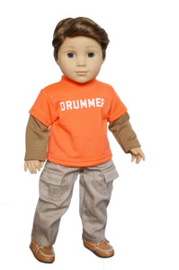 My Brittany's Drummer Outfit for American Girl Boy Dolls