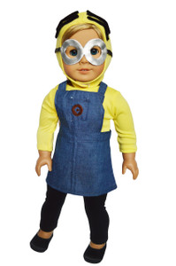 My Brittany's Minion Inspired Costume for American Girl Dolls