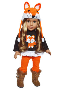 My Brittany's Fall Woodland Fox Outfit for American Girl Dolls