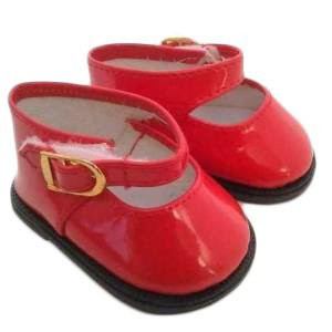 My Brittany's Red Mary Janes for Wellie Wisher Dolls