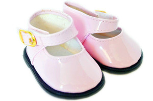 My Brittany's Pink Mary Janes for Wellie Wisher Dolls