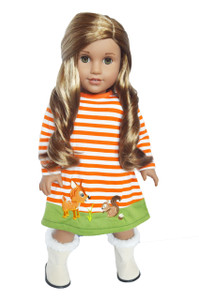 My Brittany's Woodland Dress for 18 Inch American Girl Dolls