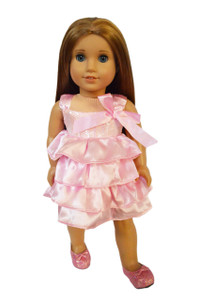 My Brittany's Pink Party Dress for American Girl Dolls