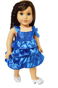 My Brittany's Hanukkah Dress for American Girl Dolls