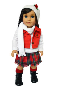 My Brittany's Winter Bliss Outfit for American Girl Dolls