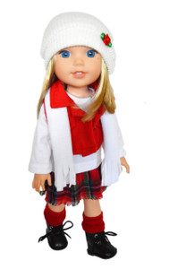 My Brittany's Winter Bliss Outfit for Wellie Wisher Dolls