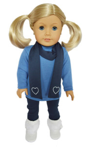 My Brittany's Blue Leggings Set for American Girl Dolls