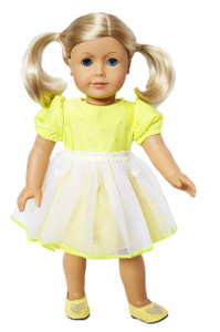 My Brittany's Easter Yellow Dress for American Girl Dolls