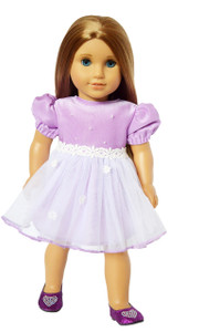 My Brittany's Lavender Easter Dress for American Girl Dolls