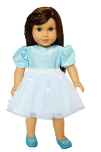 My Brittany's Blue Easter Dress for American Girl Dolls
