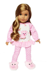 My Brittany's Piggy Pjs for American Girl Dolls