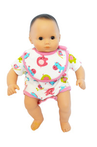 My Brittany's Baby Doll Romper for Bitty Baby Dolls- 15 Inch Doll Clothes