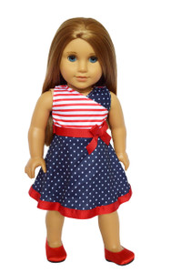 My Brittany's American Pride Dress for American Girl Dolls