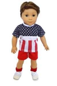 My Brittany's All American Boy Outfit for American Girl Boy Dolls