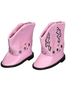 My Brittany's Pink Gem Boots For American Girl Dolls