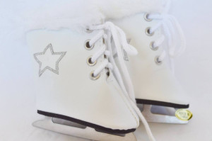 Silver Star Skates White