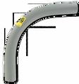 "1 1/4"" 90° PVC Elbow"