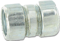 "1 1/4"" Steel Threadless Rigid Compression Coupling"