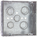 "TP563   4 11/16"" Metal Square Box"