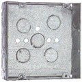 "SC41115   4 11/16"" Metal Square Box"