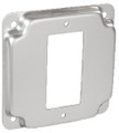 "4RC-GFI   4"" Square Raised Cover"