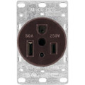 1254-BOX   Flush Mounted Power Receptacle