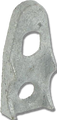 """4"""" Malleable Clamp Back"""