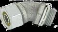 "1/2"" 45° Malleable Liquid Tight Connector"