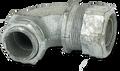 "3/4"" 90° Malleable Liquid Tight Connector"