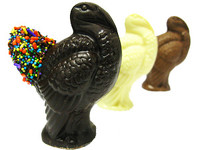 Solid Chocolate Turkeys