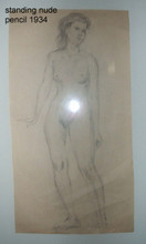 Standing Nude 1934