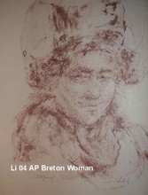 Breton Woman - Artist Proof