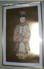 Li Hong of Beijing - Artist Proof and Pastel