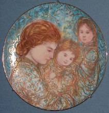 Yvette Avec Ses Enfantes