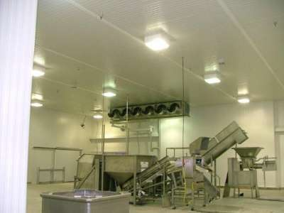 Environmentally Controlled Buildings and Rooms, food-processing-room