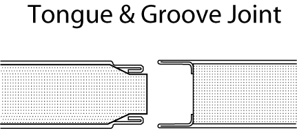 tongue and groove panel design