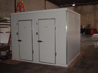 Ice Storage, walk-in Freezer