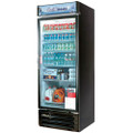 Americooler Reach-in Cooler with One Swing Glass Display Door. Model: TGM-22RVB  /By Turbo Air/