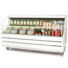 Americooler Horizontal Open Display Cases. Slim Line. Model: TOM-75S /