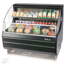 Americooler Horizontal Open Display Cases. Low Profile. Glass Side Panel. Model: TOM-40LB