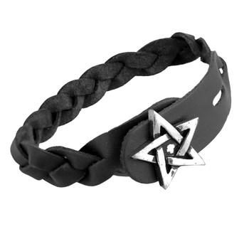A37 - Pentagram- Gaelic Plait Bracelet