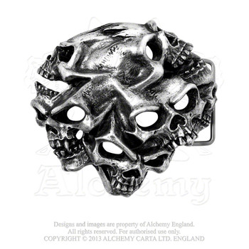 B94 - Gestalt Skull Buckle