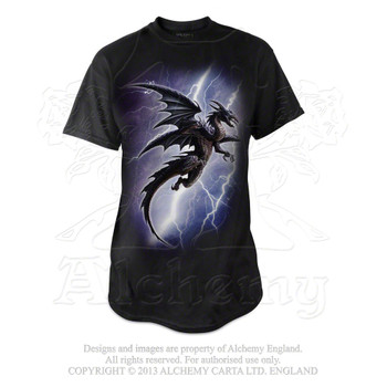 BT734 - Lightning Dragon T-Shirt